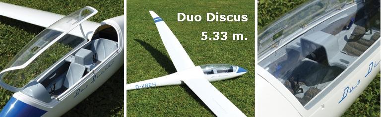 Duo Discus 5.33 m.