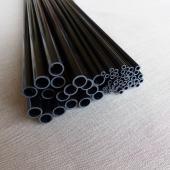 Tube carbone de 10.0 mm x 8.0 mm x 1 m.