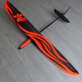fuselage Hawk rouge