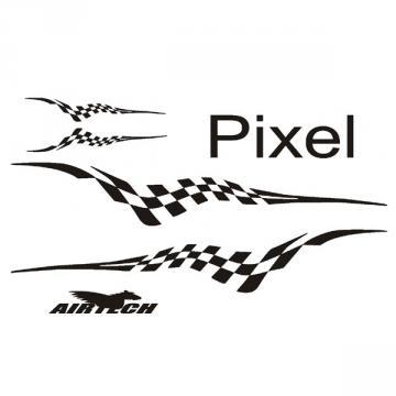 planche de décos Pixel