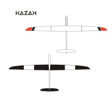 Pré - réservation KAZAK déco noir/red neon