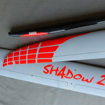 Shadow 2 F5J Carbon Blanc/red neon