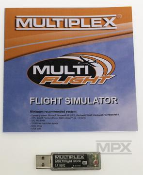 MULTIPLEX STICK MULTIFLIGHT SIMULATEUR